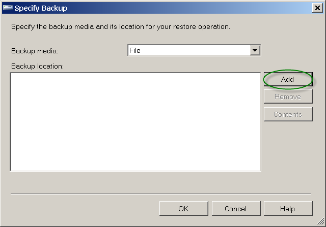 How to restore an MSSQL .bak database using Microsoft SQL Server 2008 Management Studio Express