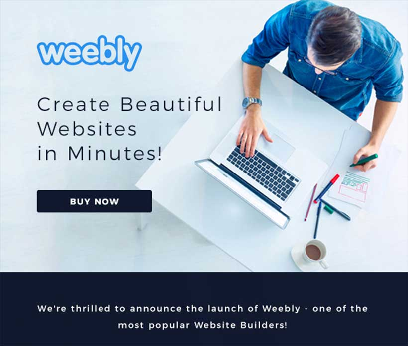 Introducing Weebly – Website Builder on WebHostingPeople