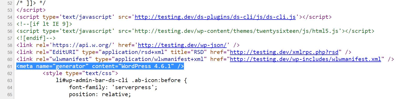 wordpress-version-source-code