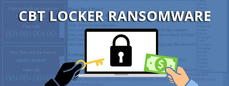 CBT Locker Ransomware