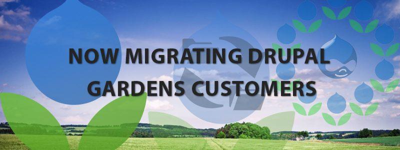 WebHostingPeople Is Now Migrating Drupal Gardens Customers