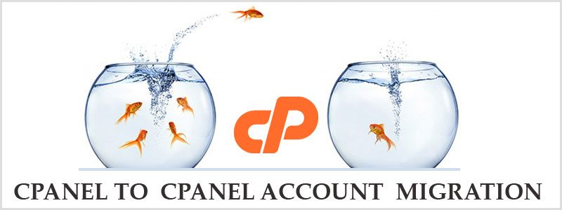cPanel to cPanel account migration