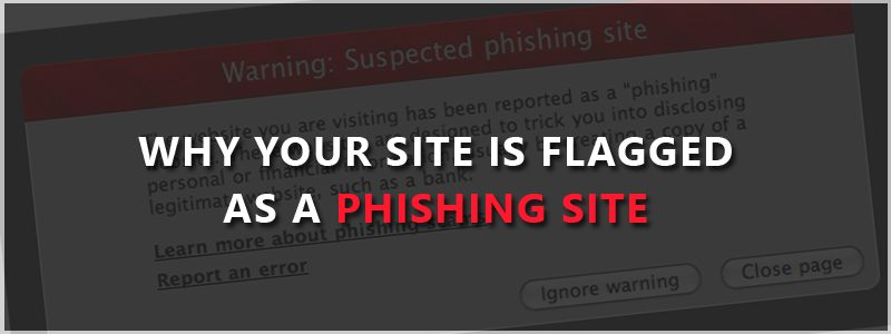 Why Your Site is Flagged as a phishing site in Google and What You Can Do to Remove The Warning?