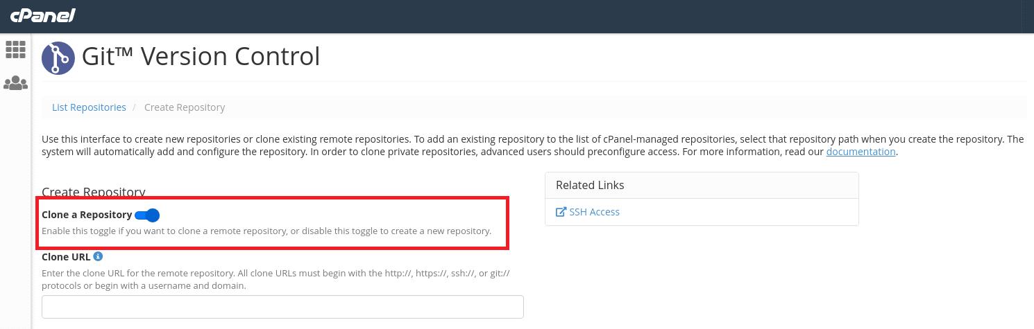 clone git repository