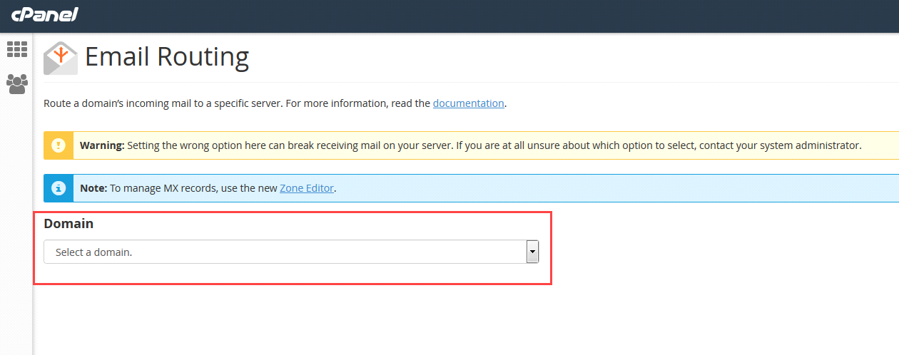 Configure email routing