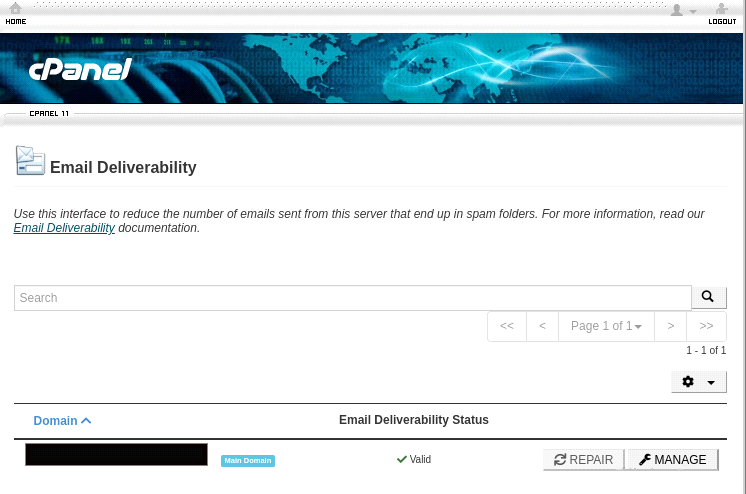 cpanel email deliverability