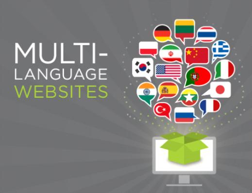 Multi Lingual Website